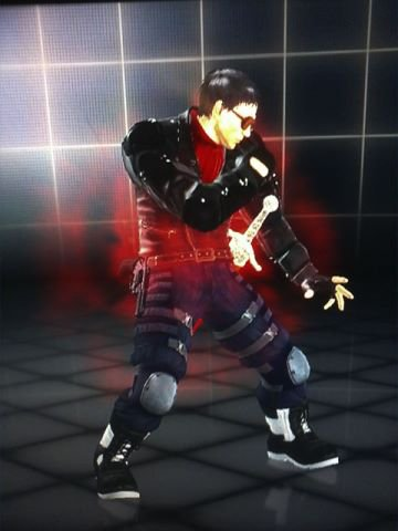 Customization Lars Alexandersson Tekken Tag Tournament 2 WII U  EDITION / 1 Customization