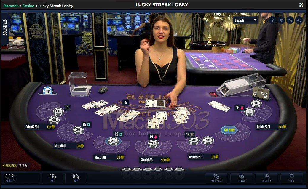 Agen Judi Casino Lucky Streak Online Terpercaya