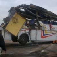 Accident sur l'autoroute: au moins un mort et 33 blessés