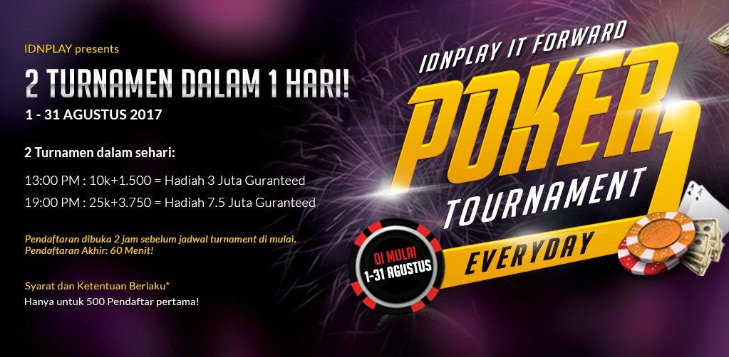 Daftarkan Dan Menangkan Event Turnamen Poker Online