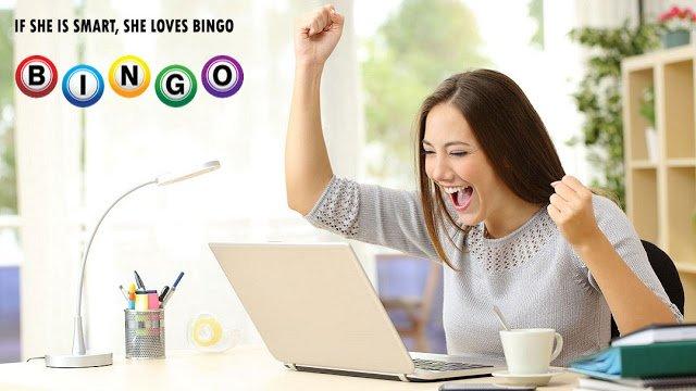 Top New Online Bingo Sites UK: IF SHE IS SMART, SHE LOVES BINGO