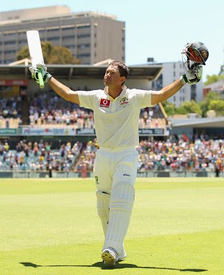 Ricky Ponting is his Final Match