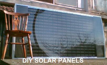 Panneau Solaire - Panneau de chauffage solaire fait en canettes