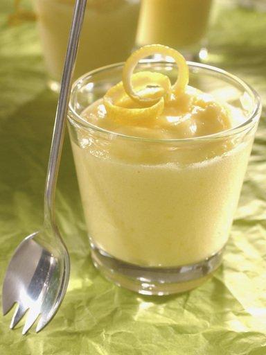 Recette : Mousse au citron simple