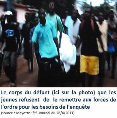 Comores /Mayotte: décès lors d'un contrôle policier