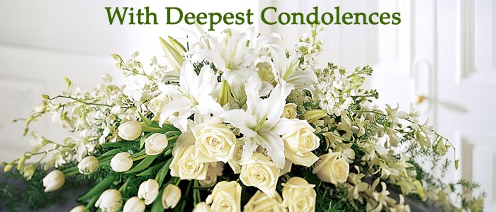 Help the people in difficult time by sending funeral flowers