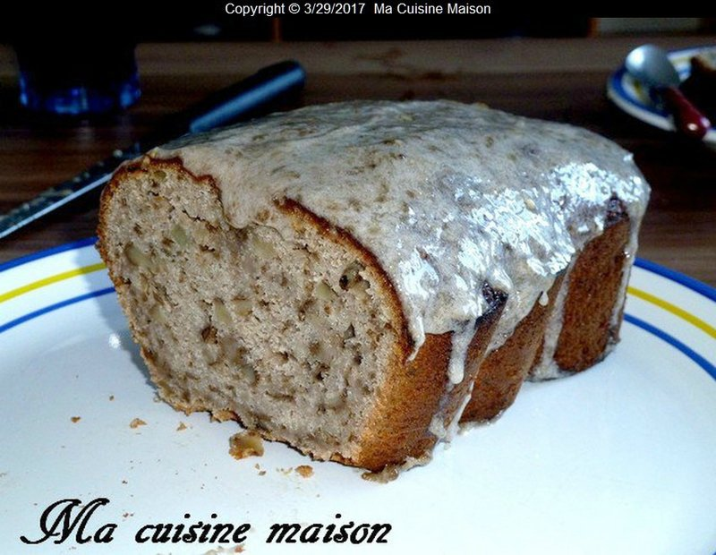 CAKE NOIX BANANE DE FELICIA TILLMAN (la cuisine des Desperates Housewives)