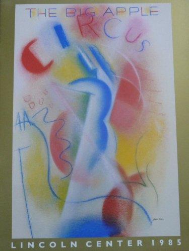 A vendre / On sale / Zu verkaufen / En venta / для продажи :  Programme Big Apple Circus 1985-1986
