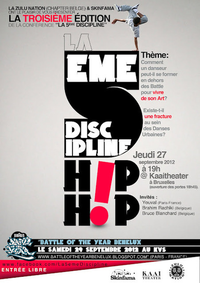 La 5ème Discipline • 3rd Edition | CHRONYX.be : on aime le son made in Belgium !