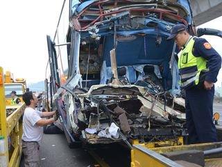 TAIPEI SOIR Le Ministère des Transports rendu responsable des accidents de bus