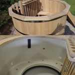 Badefass aus Holz oder mit Kunststoffeinsatz. Welche Unterschiede gibt es?