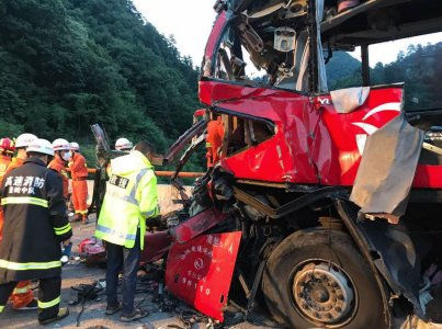 36 morts dans un accident de car en Chine