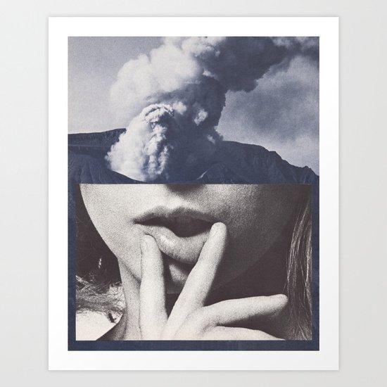 SEETHE Art Print by Beth Hoeckel