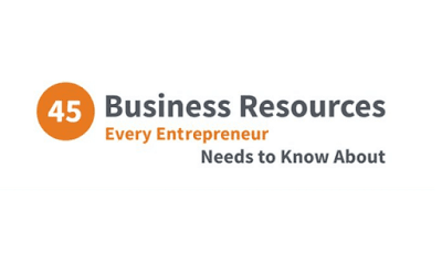 just free learn : 45 BUSINESS RESOURCES EVERY ENTREPRENEUR NEEDS TO KNOW ABOUT #INFOGRAPHIC