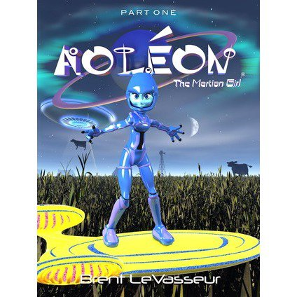 Science Fiction Book - Part 1 First Contact - Aoleon The Martian Girl