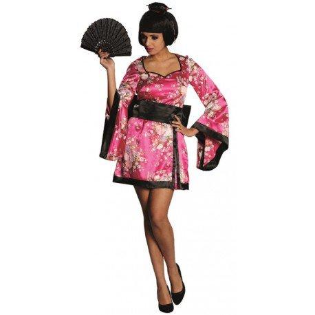 Déguisement geisha femme : achat Déguisement japonais kimono pas chère