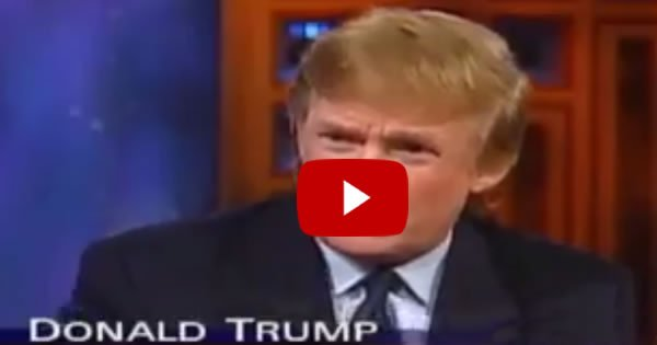 WATCH: VIDEO Has Emerged Of Donald Trump Warning Of North Korean Threat in 1999… And Guess What?