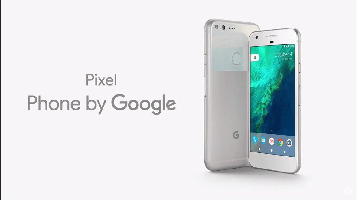 Voici les Google Pixel, les nouveaux smartphones « by Google »