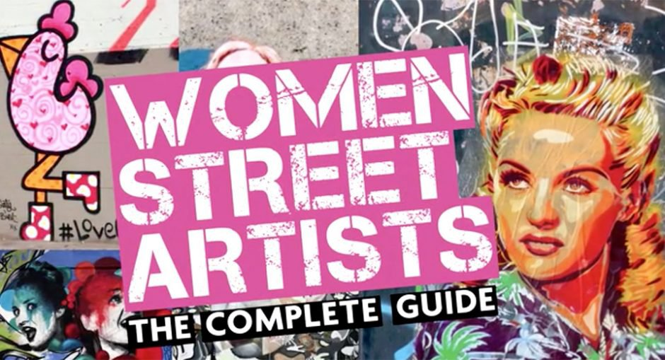 """Women Street Artists"" Female Urban Art Book (Crowdfunding)"