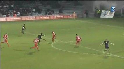 L2: Lens s'impose à Nîmes (1-2)