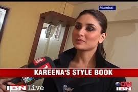 Bollynews247: Kareena Kapoor Writen Bollywood Style Guided