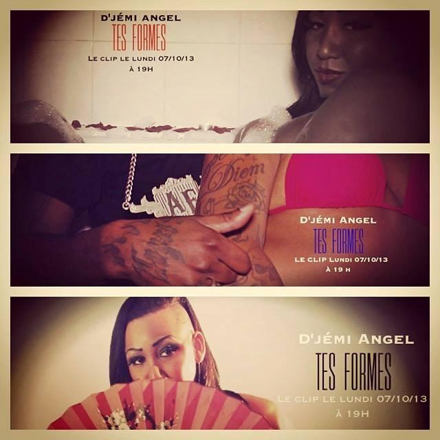 D'JEMI ANGEL - TES FORMES (clip) -