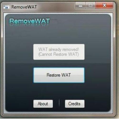 RemoveWAT Windows 10 Activator 100% WAT Remover