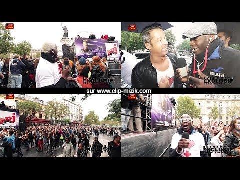 Evénement exclusif Techno Parade 2013 avec Jay Style & Croix rouge sur le Char d'NRJ