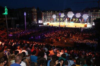 Jeux de la Francophonie à Nice: le rap de Kery James en vidéo