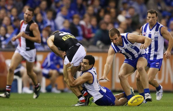 AFL Premiership Live – Round 17 – North Melbourne vs St Kilda – 12th July