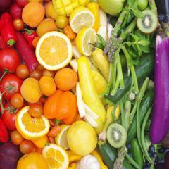 Fruits et légumes: à chaque couleur, ses propriétés bénéfiques