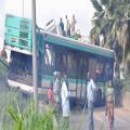 WWW.IMATIN.NET :::: Drame: Un bus de la Sotra fait un accident. Le chauffeur est mort. 33 blessés graves...