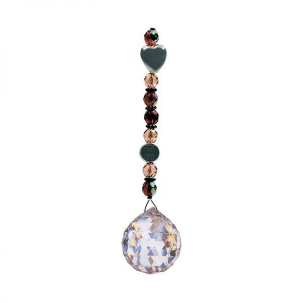 Feng Shui Double Bonheur - Magie des Bijoux - Cristal solaire