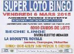 """Annonce """"Super loto avec 6000 euros de prix et..."""""""