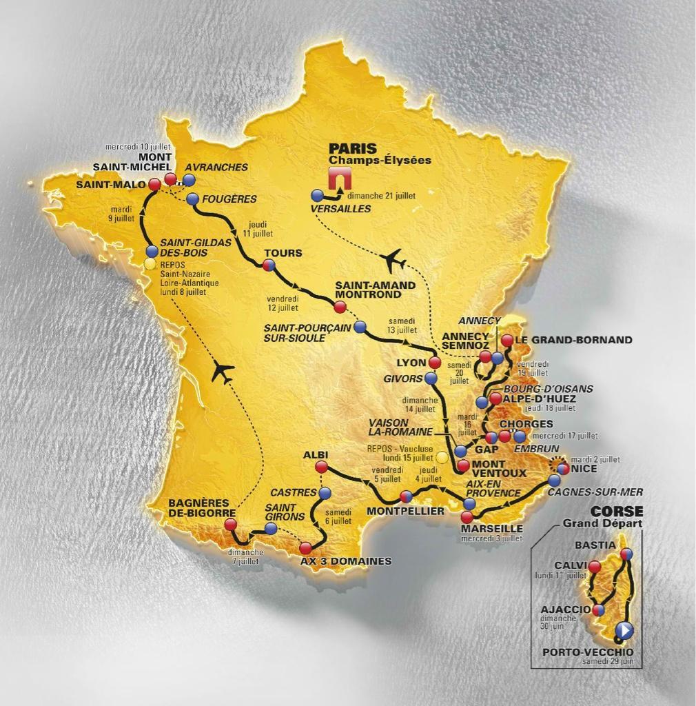 """Le """"Tour"""" de France 2013"""