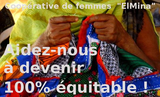Aidez nous à devenir 100% commerce équitable et éco-solidaire en soutenant la création d'une passerelle continentale de femmes artisanes.