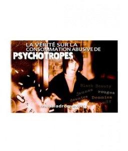 La vérité sur la consommation abusive de psychotropes