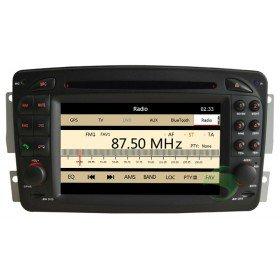 Auto DVD Player GPS Navigationssystem für Mercedes-Benz C-Klasse W203(2000 2001 2002 2003 2004 2005)