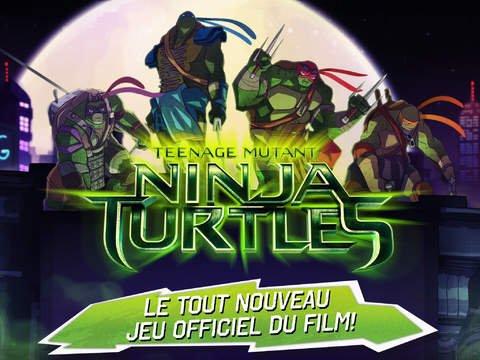 Ninja Turtles se lance dans de beaux combats sur iOS
