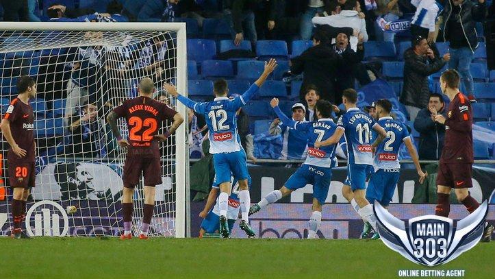 Highlights Pertandingan Espanyol vs Barcelona 0-1