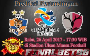 Prediksi Ulsan vs Kashima Antlers 26 April 2017