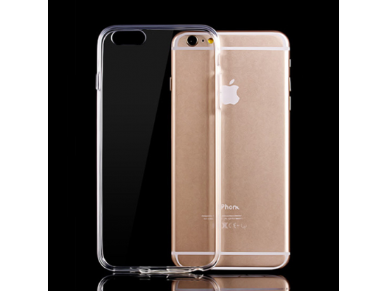 Crystal Clear Silicone Case for iPhone 6 & 6 Plus - iSpeckCase.com
