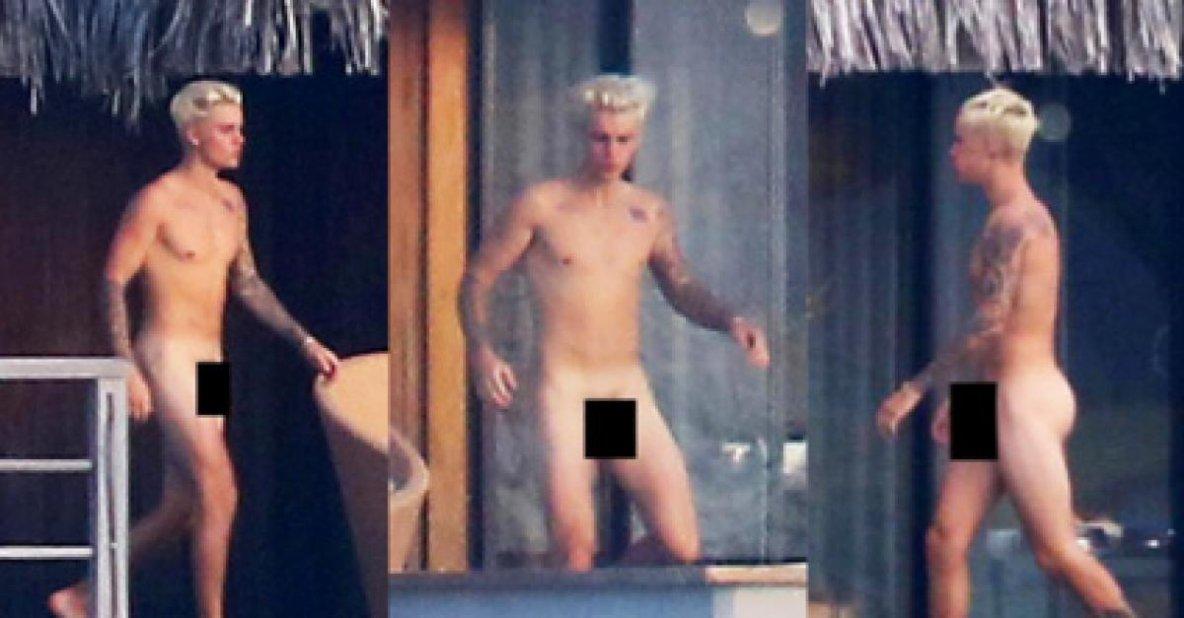 Justin Bieber a tenu à préciser que les photos, qui avaient impressionné tout le monde, avaient été prises au moment où son anatomie était dans sa « version rétrécie ».