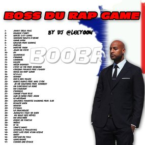 BEST OF BOOBA - BOSS DU RAP GAME
