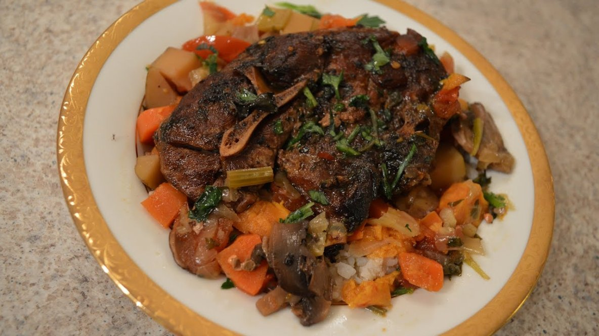 Slow Cooked Napa Valley Lamb Shoulder Stew In A Crock Pot Recipe