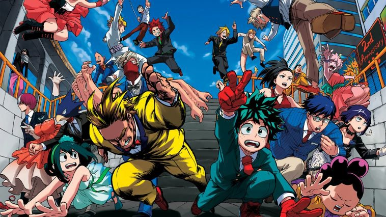 HERO ACADEMIA FILMS ANIMATION ANNOUNCED FOR 2018
