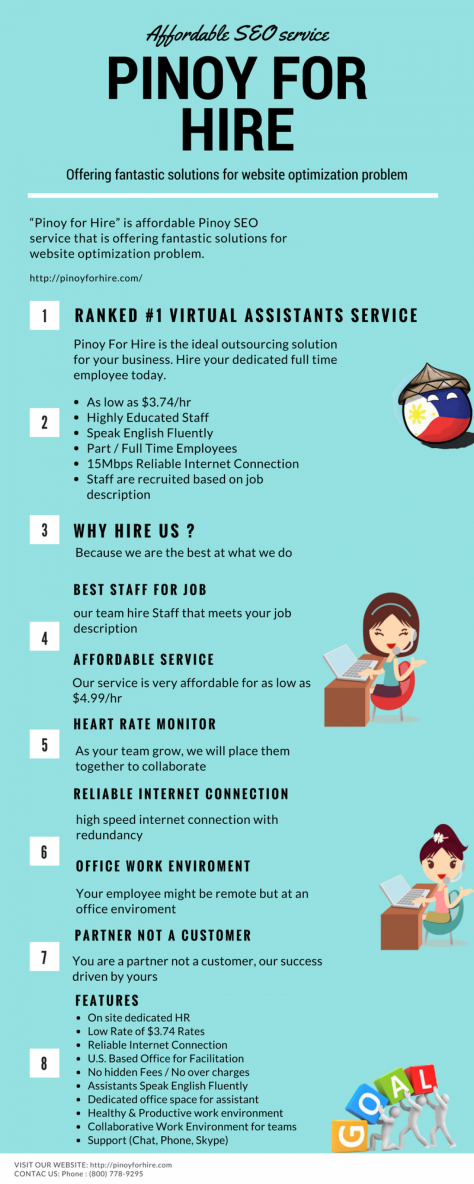 Pinoy for Hire Is An Affordable SEO Services