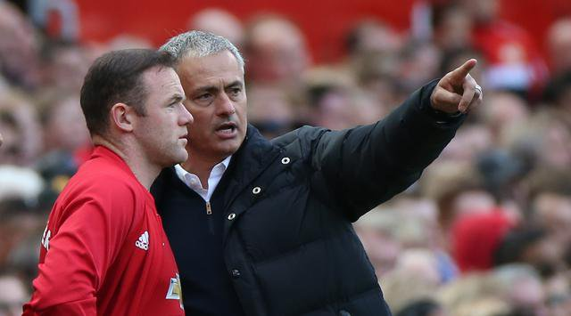 Mourinho Sangat Menghargai Keputusan Rooney Untuk Hengkang