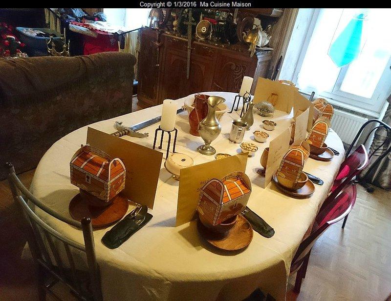 REVEILLON DE LA SAINT-SYLVESTRE 2015 (Banquet médiéval)