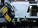 Suisse: une trentaine de blessés après une collision entre deux trains